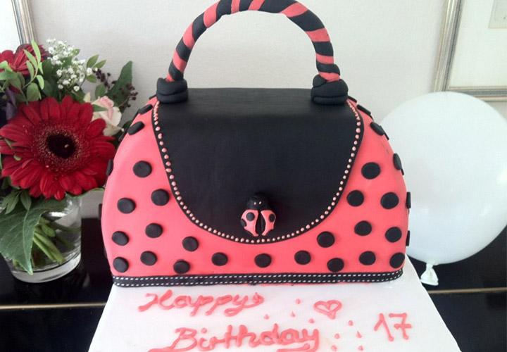 Handtaschen-Torte